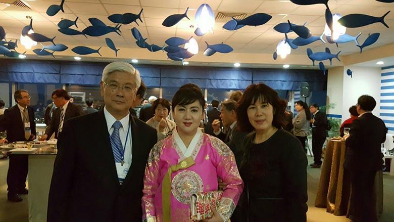 정기은 행정원장(대구여성단체협의회 회장)-각국장관들이 대거 참석한 동북아시아국제관광포럼에 한국대표 기조연설자로 참석하였습니다.